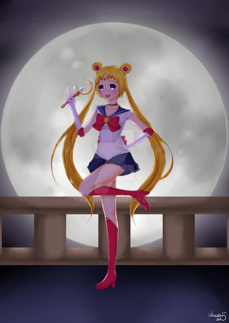 Sailor Moon by epicAnnaaaa