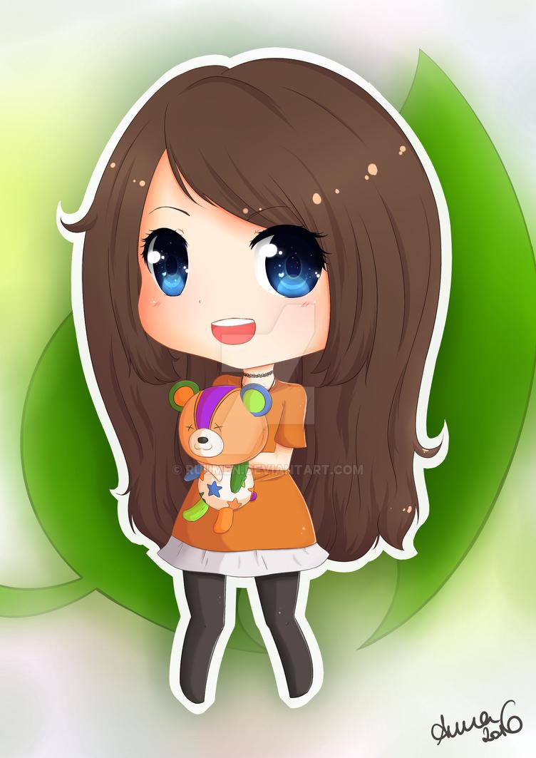 Lena Vanille - Animal Crossing by epicAnnaaaa
