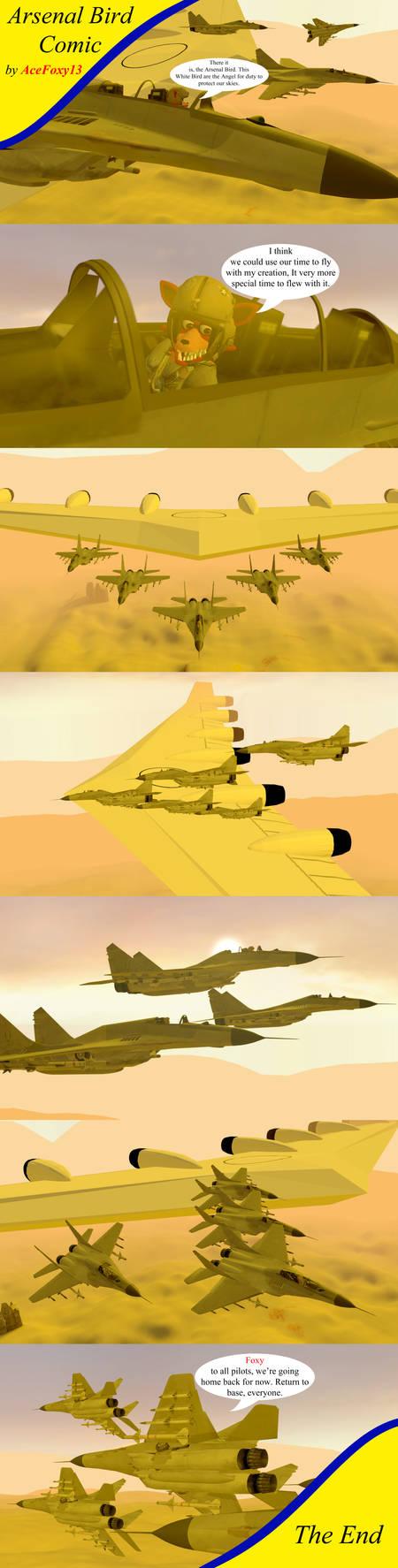 Arsenal Bird Comic By Acefoxy13 On Deviantart