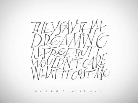 Dreaming - Hayley Williams