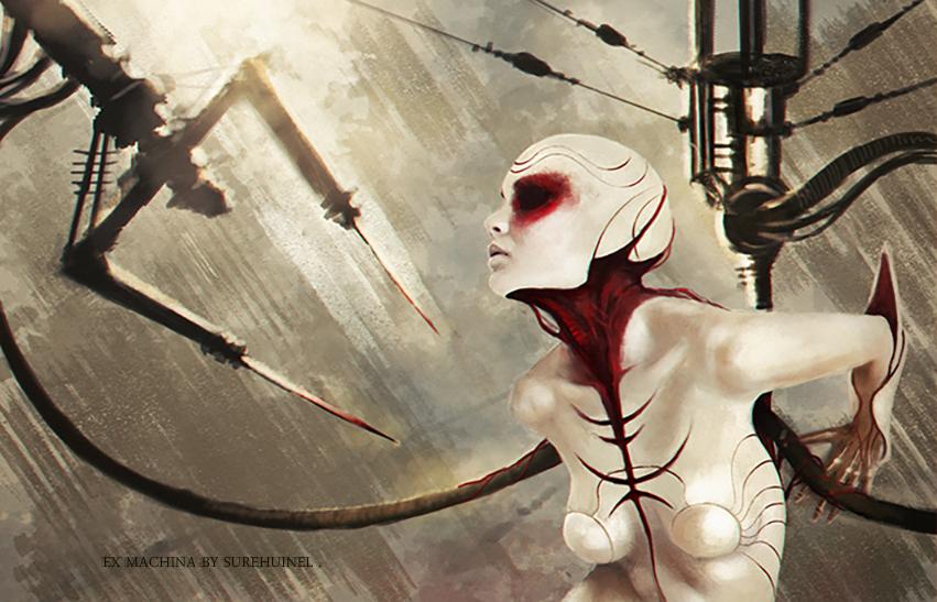 Ex Machina by Surehuinel