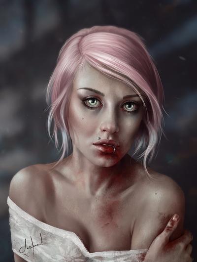 Blood by Surehuinel