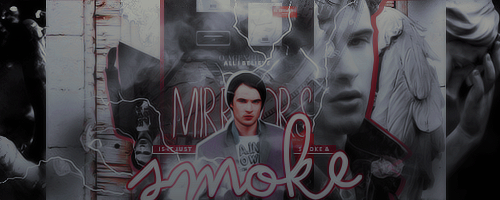 Smoke + Mirrors Signature by broken-halves