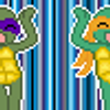 TMNT doing the caramelo by LunarLotis