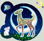 Midnight walk under the moon by LunarLotis