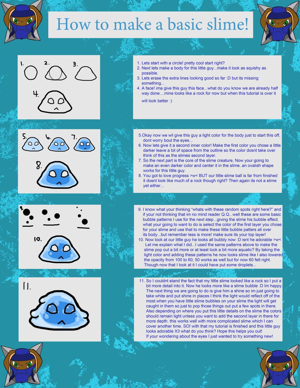 how to make basic slime