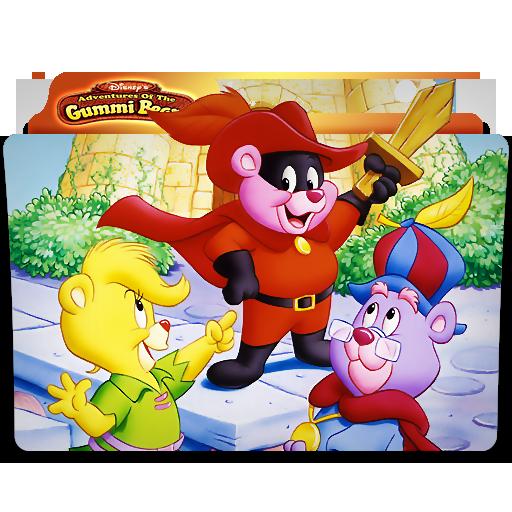 Gummi Bears Folder Icon by mikromike