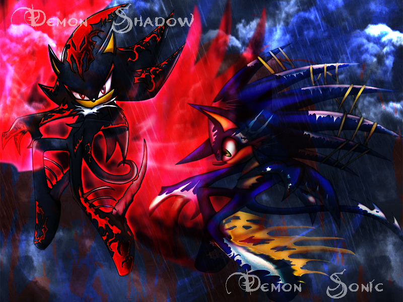 Demon sonic shadow background by flip0024 on deviantart demon sonic shadow background by flip0024 voltagebd Images