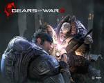 Gears of War 2 Chainsaw Battle