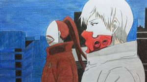 Tatara and Noro - Tokyo Ghoul