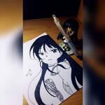 Mio Akiyama - K-on!! by Kevintan19