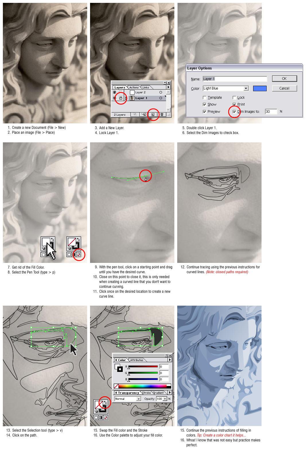Tutorial-102 Adobe Illustrator by kapopopoy