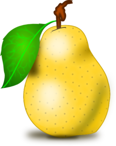 pear clip art by vansc14 on deviantart rh deviantart com pear clipart images prickly pear clipart