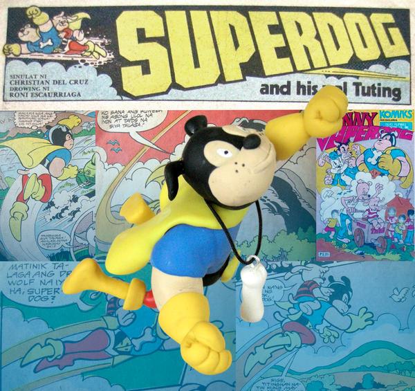 SUPERDOG Funny Komiks 1983 by Dinuguan
