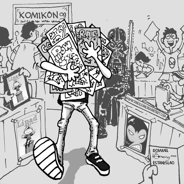 Komikon 09 by Dinuguan