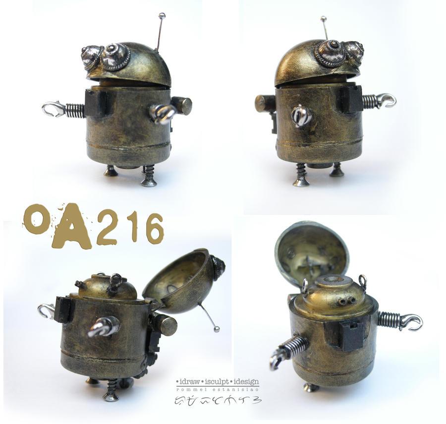 OA216 robot by Dinuguan