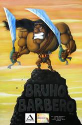Bruho Barbero Indie Comics on Canvas