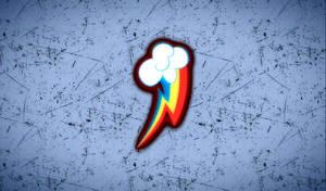 Mlp CM Wallpapers #2: Rainbow Dash by PopFizzelz