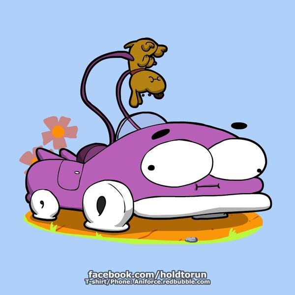 Prut prut the car by Aniforce