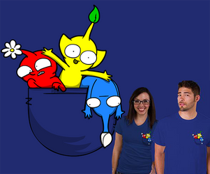 Our Pikmin Parody Shirt! (Limited time) by Aniforce