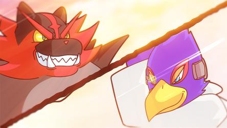 Incineroar Vs Falco