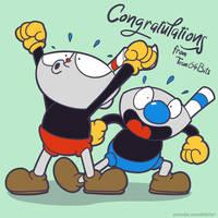 Congratulations Cuphead!
