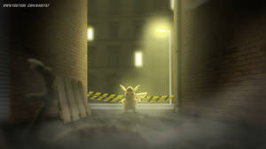 Detective Pikachu Noir... Alley Shot by Aniforce