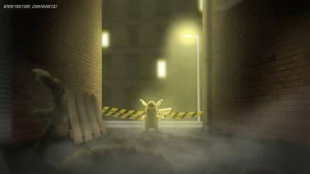 Detective Pikachu Noir... Alley Shot