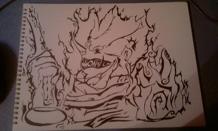 Itachi Susanoo ... Madara Uchiha Susanoo Drawing