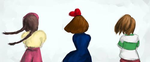 GHIBLI-GIRLS by FangLan