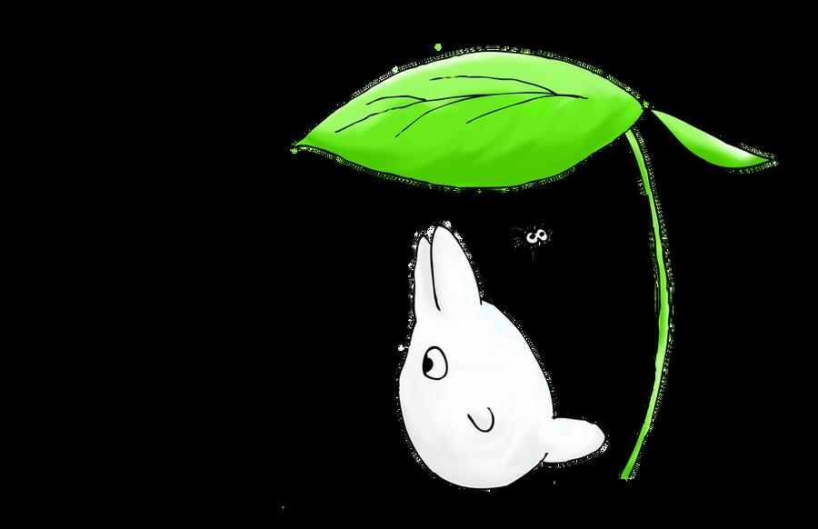 Chibi Totoro Ejercicio En Photoshop By Theblackcat1312 On
