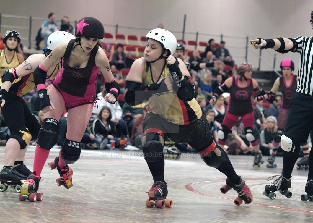 Roller Derby...The Mad Rollin Dolls 5 by trollmongo