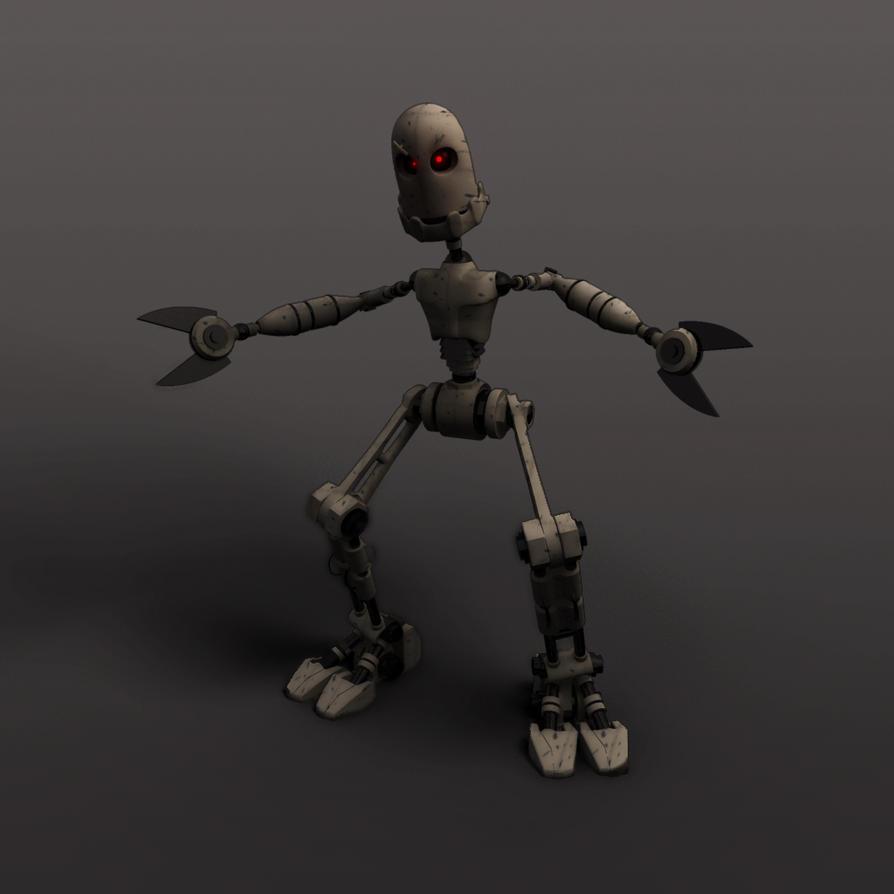 Evil Robot By Martin8910 On Deviantart