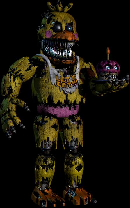 Nightmare toy chica by framedblaze on deviantart