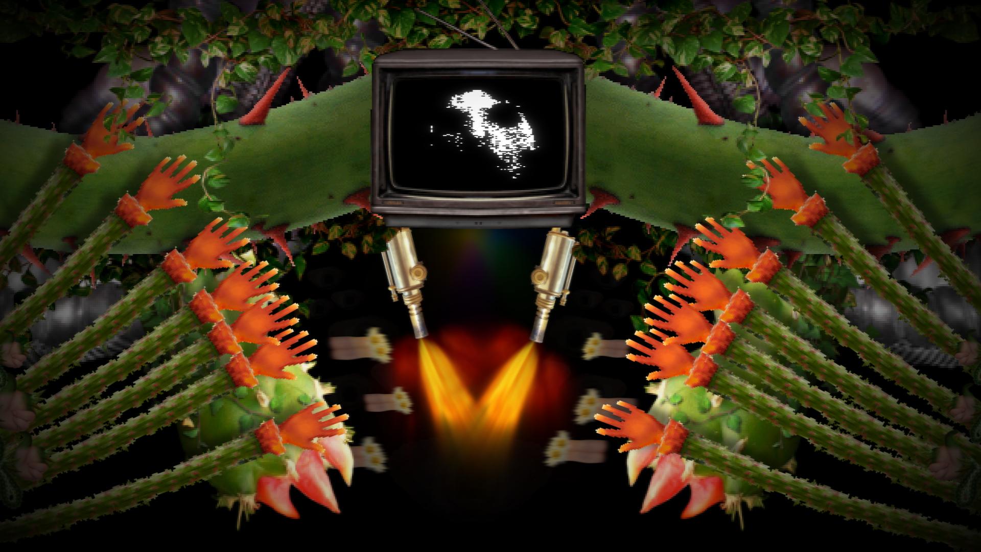 Here is a little MEGA Flowey background (Alternate) : Undertale