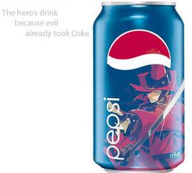 Jirou Mochizuki Pepsi Ad by THExVAMPIRExKNIGHT