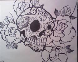 Suga Skull by Stizzy-Dizzy