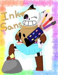 Gender-swapped Ink!Sans