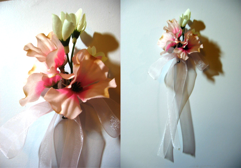Dogwood Blossom Hairclip by LinksLove