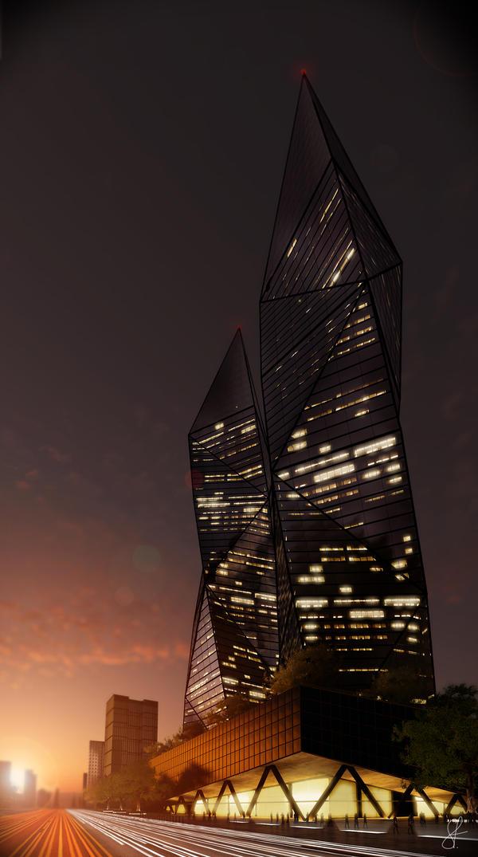 Skyscraper by evilios