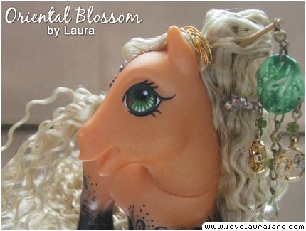 Oriental Blossom's eye by lovelauraland