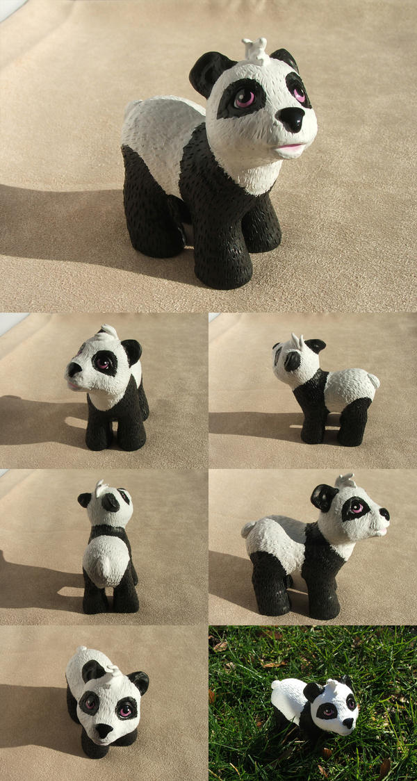 Panda Bear by lovelauraland