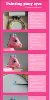 My little pony eye tutorial
