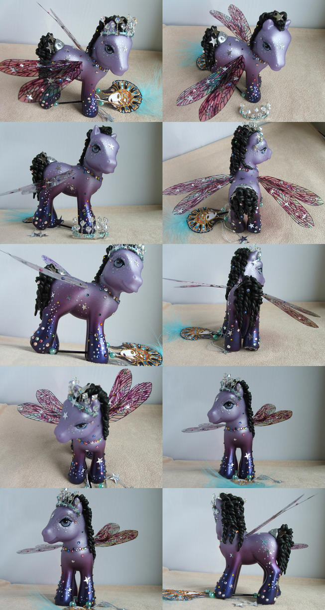 Party Star Charity Pony by lovelauraland