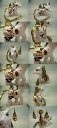Oriental Bunnies by lovelauraland