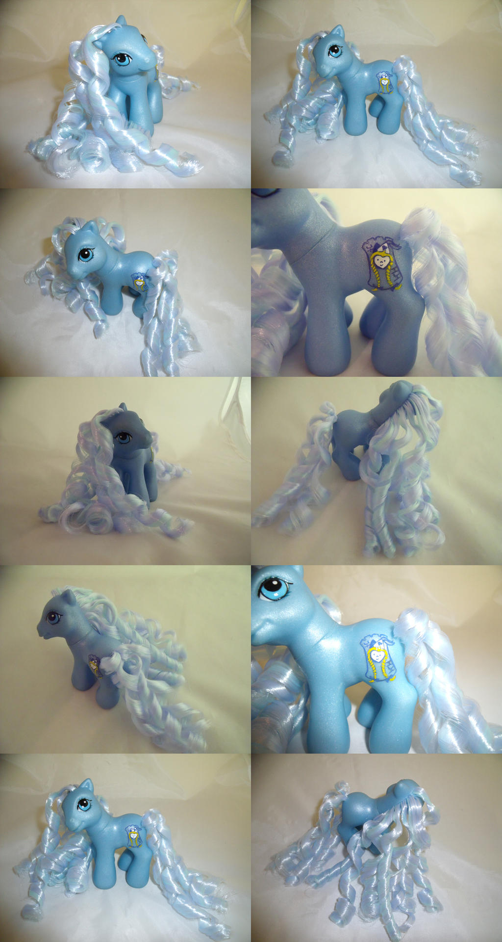 Baby Blue Repunzel by lovelauraland