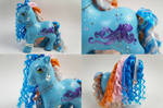 Blue Octopus Pony