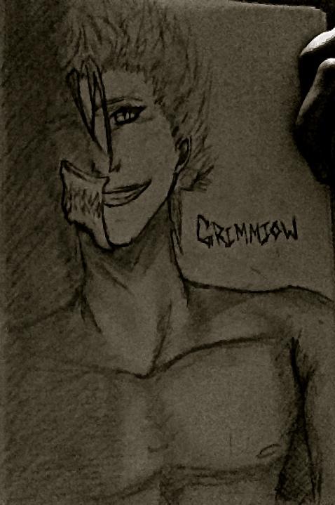 Grimmjow's Shadow by cheshirecastiel