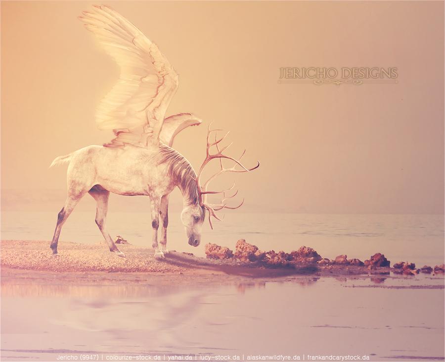 Peryton by Jericho-Designs