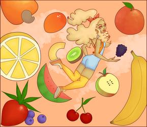feelin fruity! by Erasable-CoLoRs